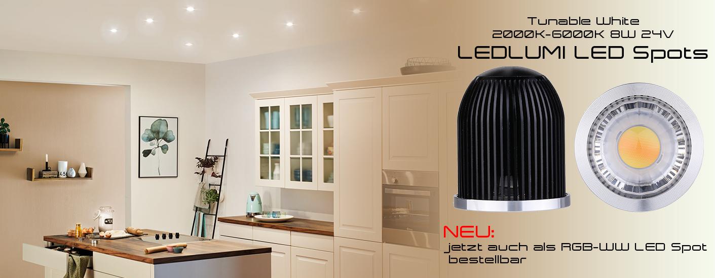 LEDlumi LED Spots Tunable White